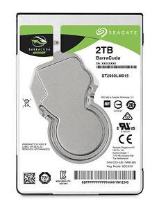 """2,5"""" 2TB 2000GB Seagate BarraCuda SATA-3 HDD ST2000LM015 interne Festplatte"""