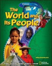 GEOGRAPHY WORLD and ITS PEOPLE: The World and Its People by Dennis Reinhartz, Merry Lobrecht, Richard G. Boehm, Francis P. Hunkins and David G. Armstrong (2004, Hardcover, Student Edition of Textbook)
