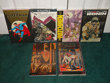Superman Archives Vol. 1 / The Shadow / Watchmen / Ronin / Green Arrow DC Trade