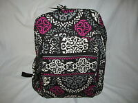 Vera Bradley With Tag Canteberry Magenta Campus Backpack Free Shipping