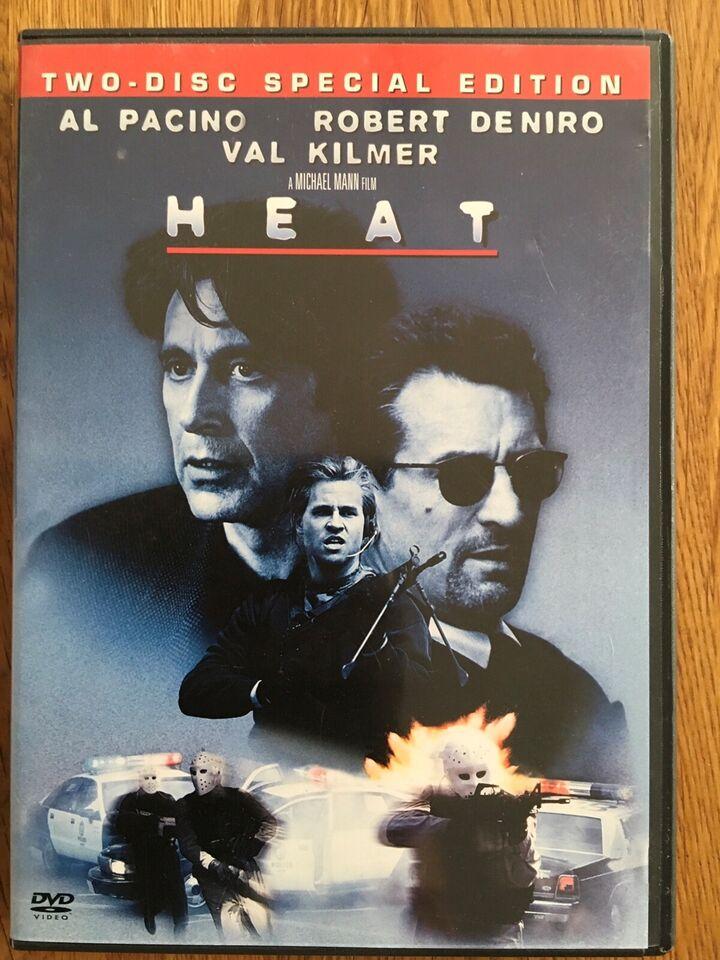 HEAT, DVD, action