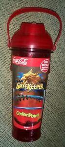 Cedar Point GateKeeper roller coaster 2013 Bottle drink soda pop Coca-Cola Coke