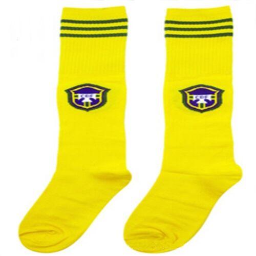 Kids Soccer Socks Boys Girls Long Football Team Sport Club Socks 12 Styles
