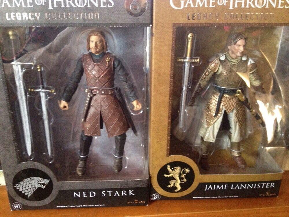 Funko Juego de Tronos Jon Snow, Ned Estrellak, Jamie Al, Serie Baratheon Legacy