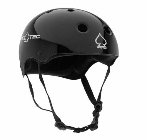 PRO-TEC CLASSIC SKATE HELMET in gloss black 300g