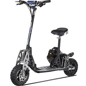 uberscoot evo 2x 50cc powerboard gas scooter evo 2x big ebay. Black Bedroom Furniture Sets. Home Design Ideas