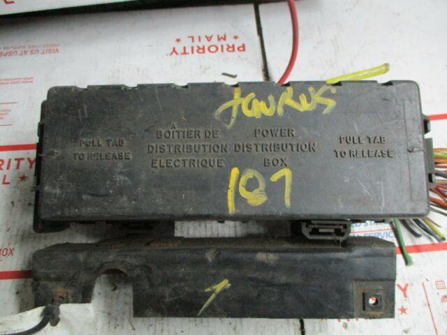 Taurus 1997 Fuse Box  Engine 187
