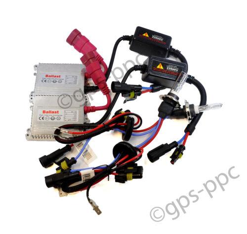 XENON HID CONVERSION AC 35W SLIM BALLAST KIT H1 H3 H7 H9 H11 HB3 9005 HB4 9006