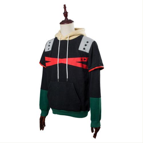 My Hero Academia Bakugou Katsuki Hoodie Cosplay Sweatshirt Jacket Coat Pullover