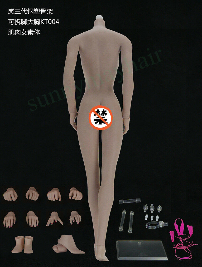 1 6 JIAOU DOLL Super Flexible Flexible Flexible European Shape Female Big Bust Body KT004 62dc82