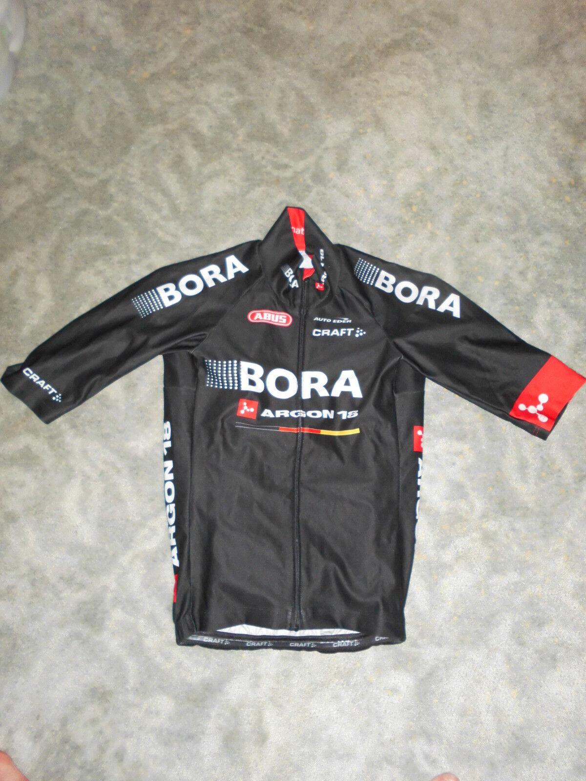 Craft Team Bora Argon18 Regen Trikot halbarm, weather jersey wie gabba