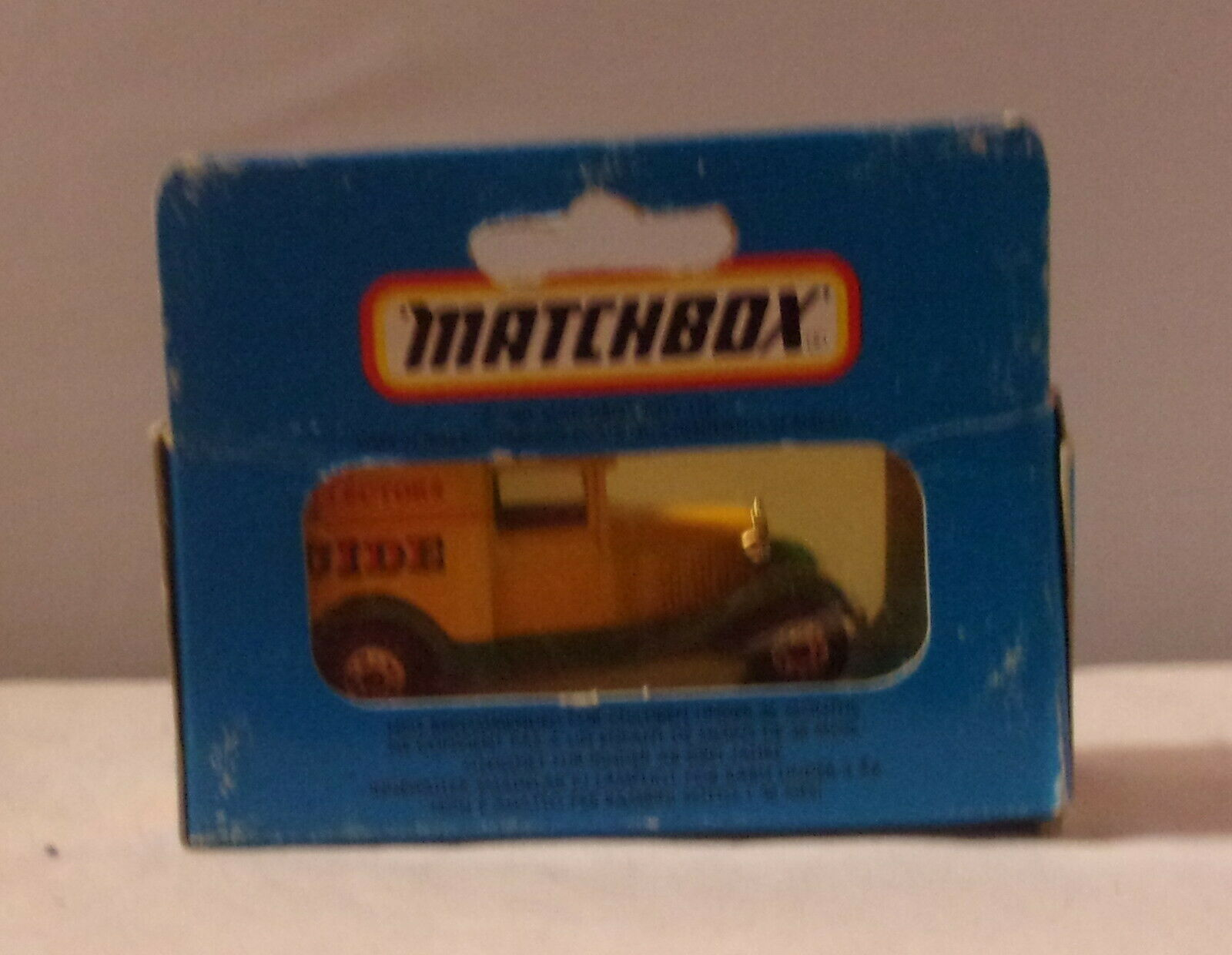 No:38 Matchbox Ford Model A Van Rountrees Jellies Reproduction Box