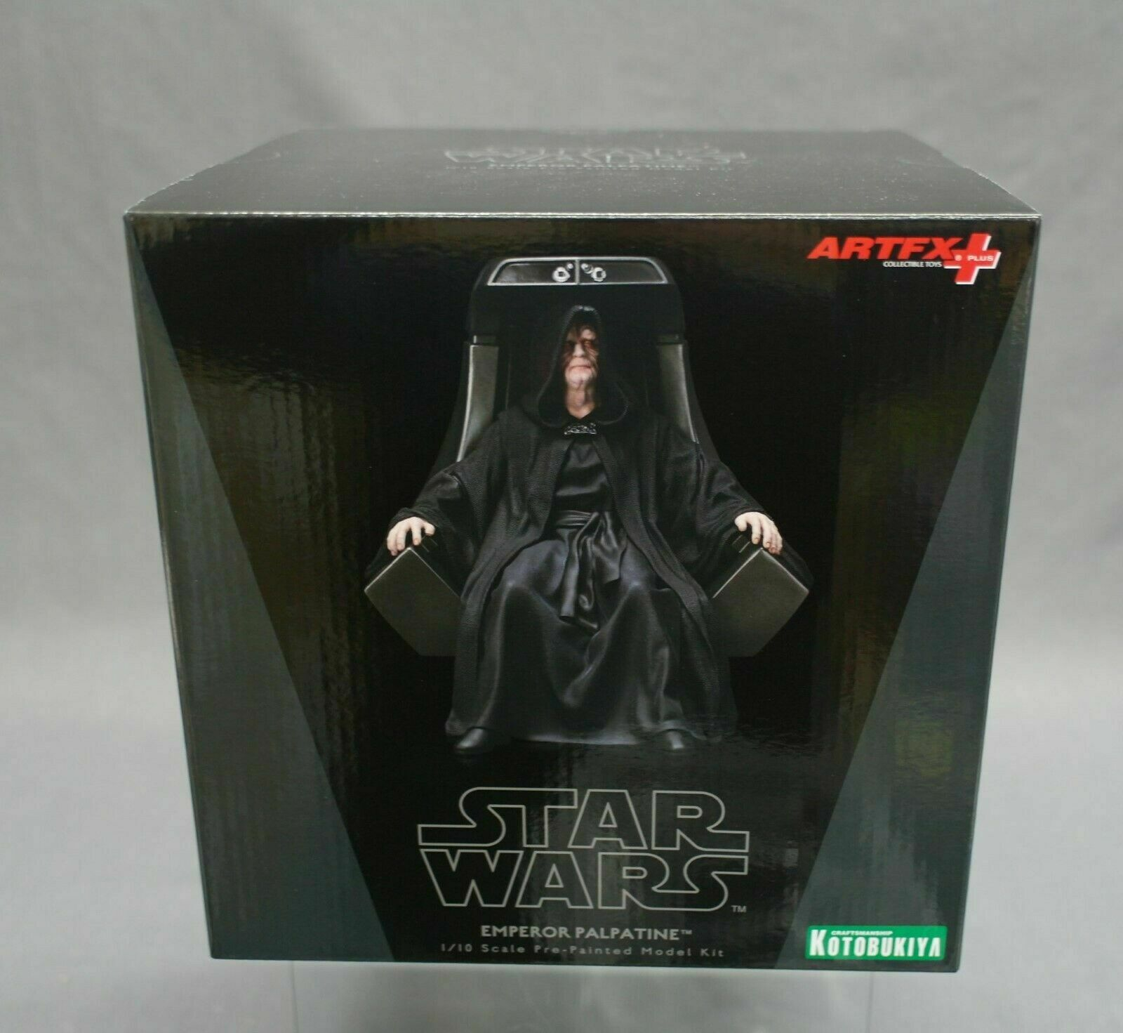 ARTFX+ Star Wars Emperor Palpatine 1 10 Kotobukiya Japan NEW