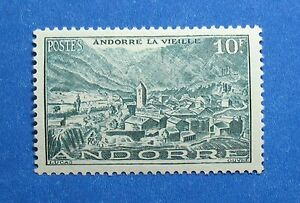 Stamps Liberal 1944 Andorra French 10 Fr Scott# 98 Michel # 125 Unused Nh Cs27994 Strengthening Waist And Sinews