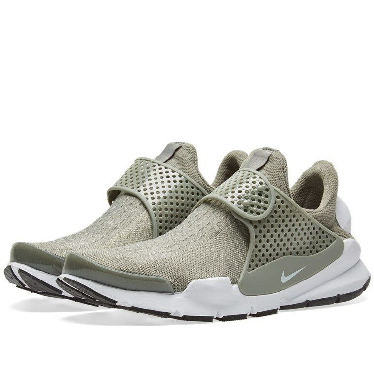 NIKE SOCK DART * DARK STUCCO / WHITE / BLACK UK * 848475 005 * UK BLACK 5.5 378e2a