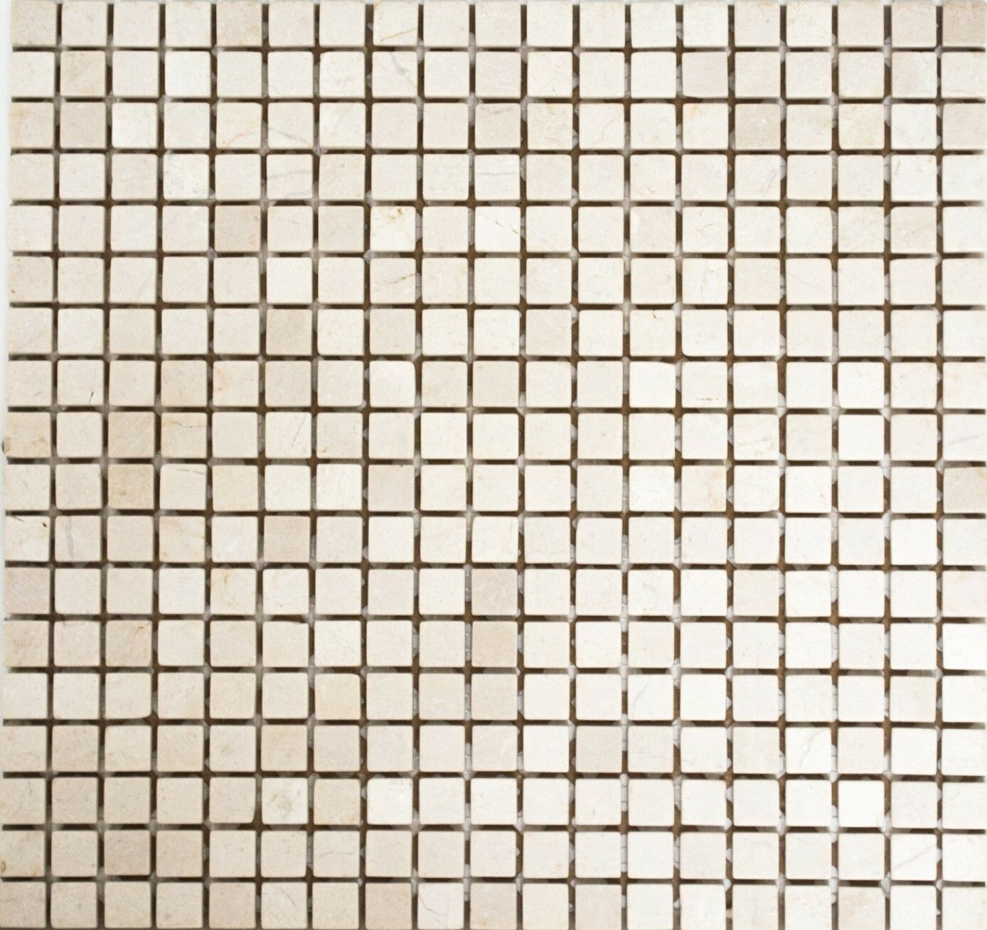 Mosaik Fliese Marmor Naturstein weiß Botticino Anticato    38-0104_f   10 Matten