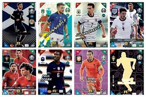 PANINI ADRENALYN XL EURO 2020 2021 KICK OFF FANS / POWER / MULTIPLES #226 - #405