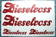 Fendt Aufkleber Farmer Favorit Geräteträger rund Sitzschale Dieselross    200152