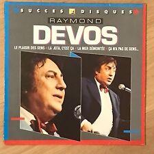 Vinyle 33 Tours - Raymond Devos - Le Plaisir Des Sens - 8265071 - LP Rpm