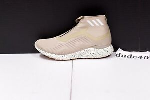 super popular ce511 cfe8a Image is loading adidas-AlphaBounce-Zip-Men-039-s-Light-Brown-