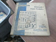 Honda 1974  Factory Tool Catalog Catalogue w/ Binder Motorcycle Power Products