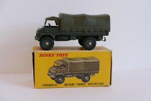 Mercedes-benz Unimog Militaire -dinky Toys-821