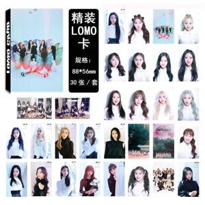 30Pcs-set-KPOP-LOONA-Butterfly-Album-Lomo-Card-Photo-Card-Poster-Photocard