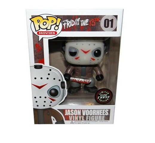 Genuine Pop  Vinyl Friday 13th - Jason Voorhees  01 Limited Glow Chase Edition