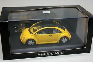DetailCars//Detail Cars 1:43 Volkswagen VW New Beetle Concept 1 Coupe 1994 Yellow