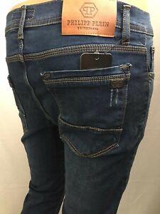 Philipp Plein men's jeans W38 L34 Slim Fit