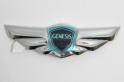 Wing Style Rear Trunk Emblem Badge For Hyundai Genesis Sedan