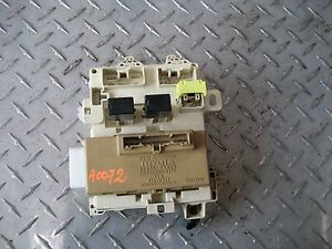 1986 toyota corolla fuse box diagram 01 02 toyota corolla interior fuse relay box | ebay 2016 toyota corolla fuse box inside