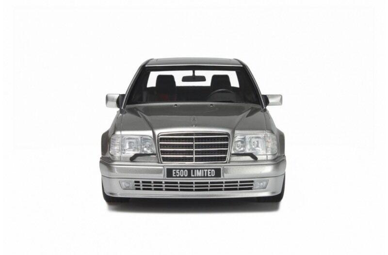 Mercedes-Benz E-Klasse E500 W124 Limousine Silber 1984-1997 Nr 623 1//18 Otto Mod