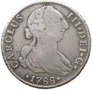 SPAIN-4-REALES-1788-SEVILLA-t94-153