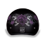 Dot Daytona Skull Cap Purple Rose