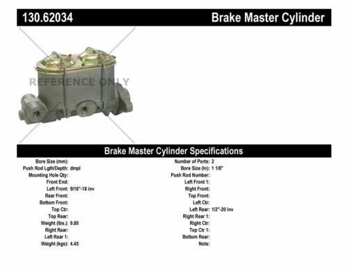 Brake Master Cylinder-Premium Master Cylinder Preferred Centric 130.62034