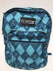 4a78e6e0ee Image is loading Trans-by-JanSport-MegaHertz-Backpack-Bag-Teal-Grey-