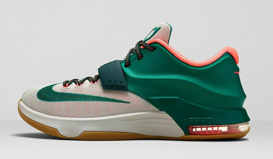 Nike KD 7 VII size 14 Easy Money Green Gum 653996-330. 8 ext elite bhm all star Wild casual shoes