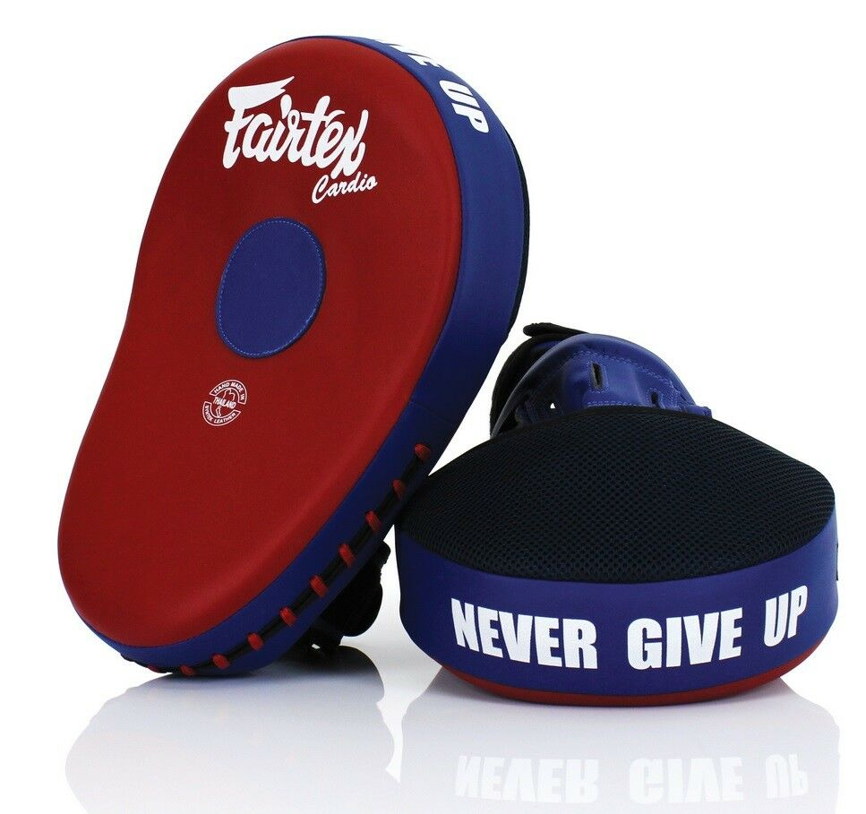 Fairtex FMV13 Maximized Focus Mitts  Muay Thai Boxing Punch Target Pads Red bluee  for your style of play at the cheapest prices