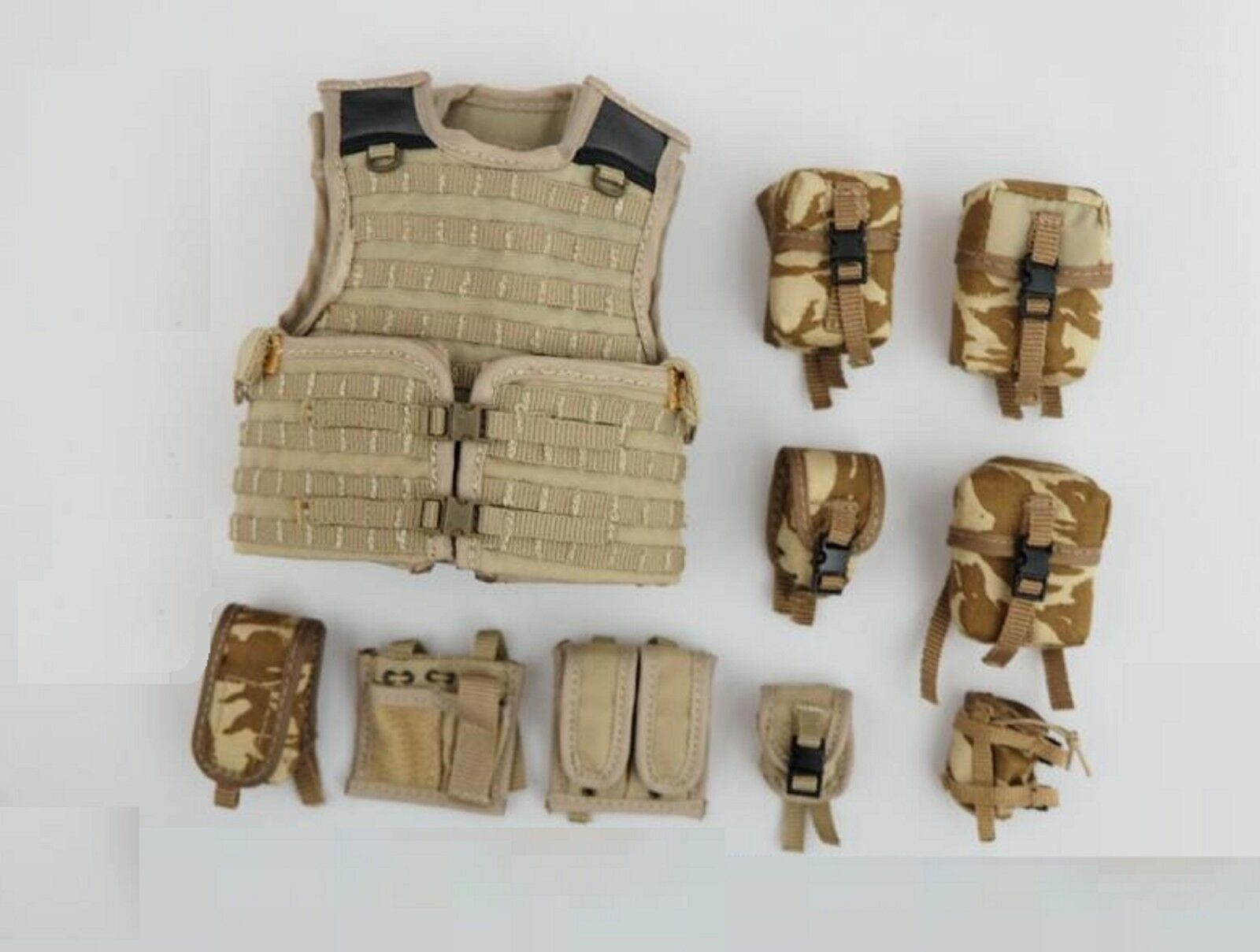 Damtoys 78036 British Army In Afghanistan 2016 Expo - Vest Set