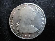 CARLOS III POTOSI 8 REALES 1780 P.R.