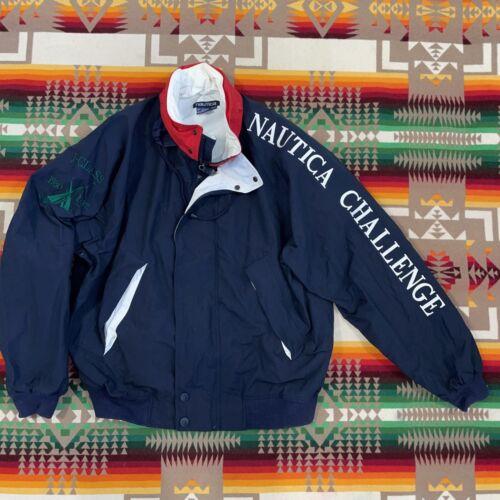 VTG NAUTICA Challenge Mens XXL Jacket J Class Sail