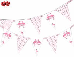 Joyeux-Anniversaire-Bunting-Banniere-15-drapeaux-Flamant-amp-Motif-mix-by-Party-Decor