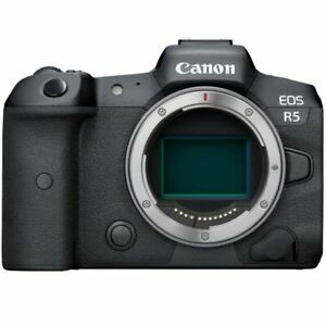 Canon EOS R5 45.0MP Mirrorless Camera - Black (Body Only)