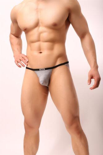 Mens G String Thong Jockstrap Pouch Panties Micro Bikini T-back Briefs Underwear