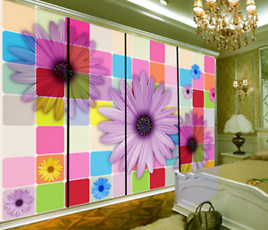 3D Lattices Daisy 86 Wall Paper Murals Wall Print Wall Wallpaper Mural AU Kyra