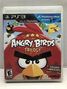 Angry Birds Trilogy (Sony PlayStation 3, 2012) Complete Tested Working