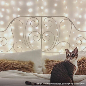 Plug-In-Copper-LED-Firefly-Wire-Curtain-Lights-Indoor-Home-Bedroom-Decoration