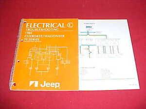 1984 jeep cherokee wiring diagram 1984 jeep cherokee wagoneer 70 series electrical service manual  1984 jeep cherokee wagoneer 70 series