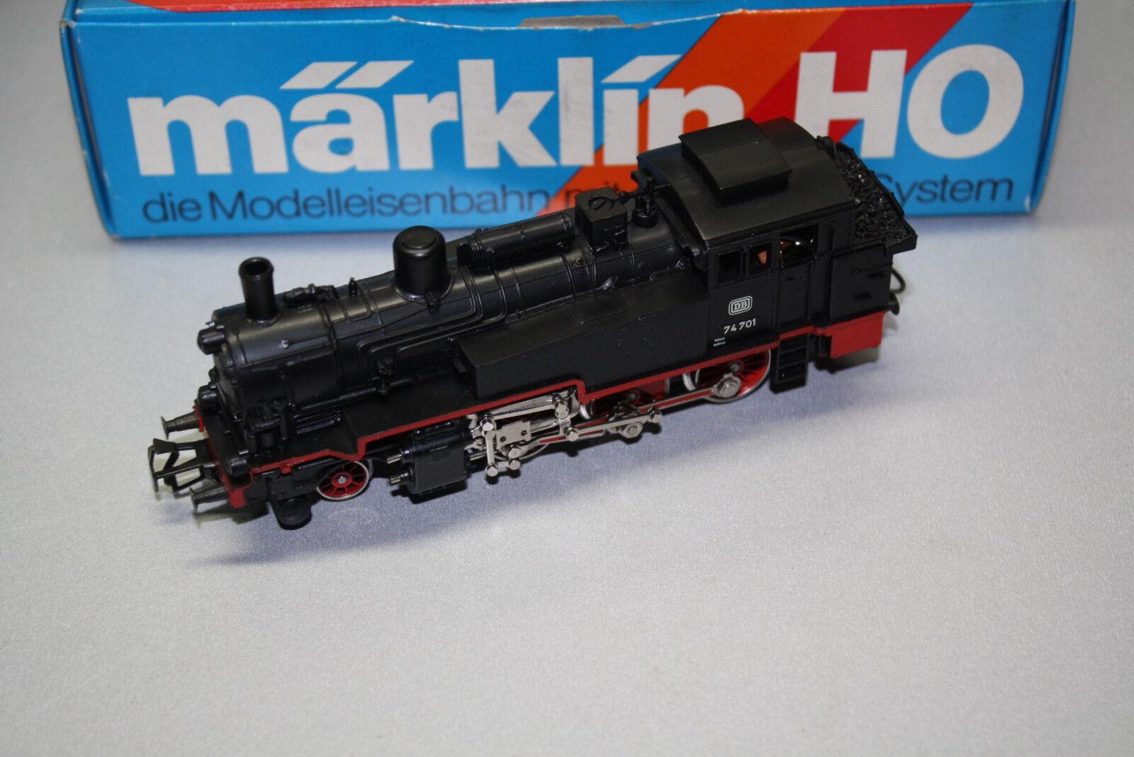 3095 locomotiva serie siano 74 701 DB traccia h0 OVP